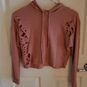 Size M Cropped Hoodie